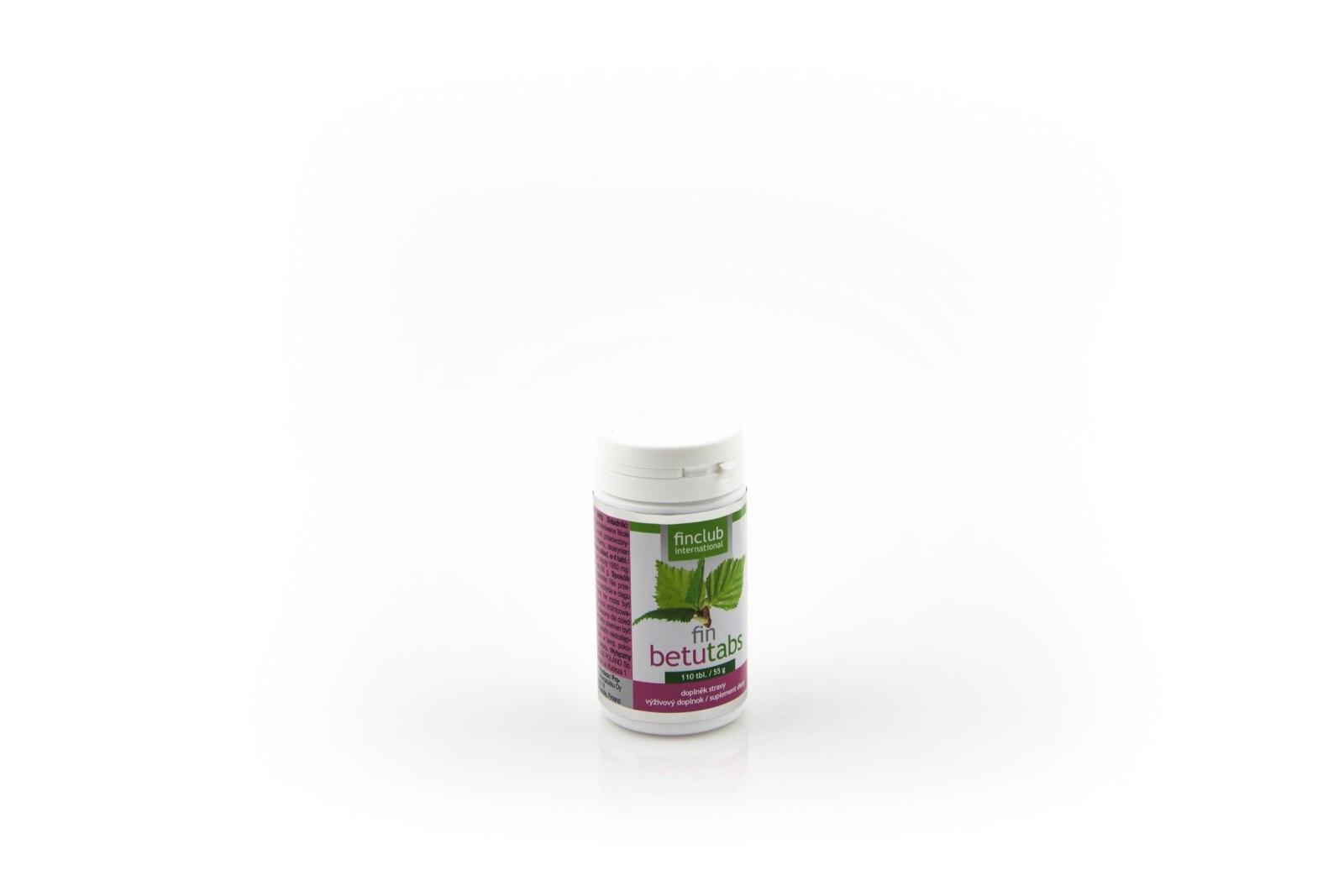fin betutabs (ekstrakt z liści brzozy), 110 tabletek