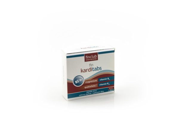 fin karditabs new (Mg, B6, B12, kwas foliowy), 60 tabletek